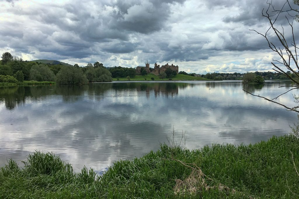 View of Linlithgow Palace